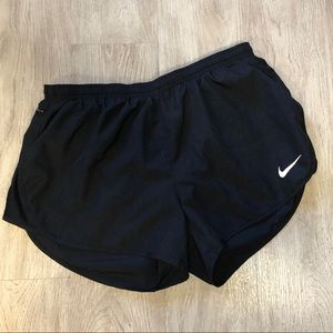 Black Nike Running Shorts Size Large